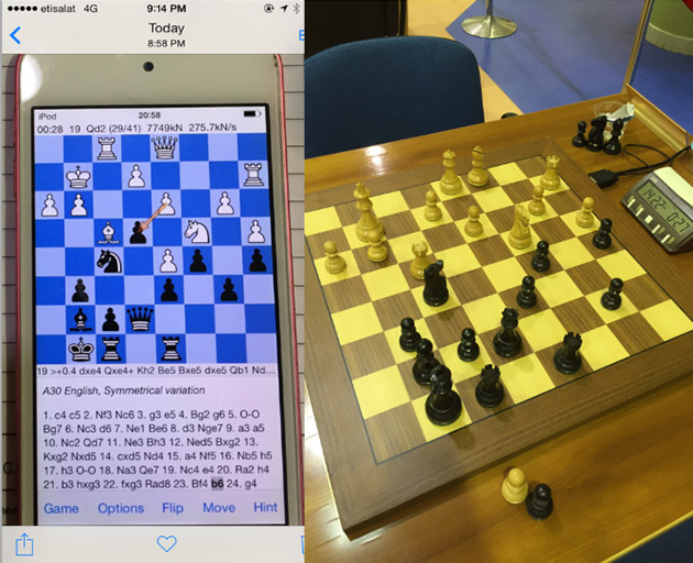 Chess champ's high-tech cheating scheme involved an iPod touch