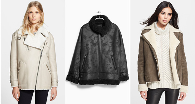 The shearling outerwear of your dreams