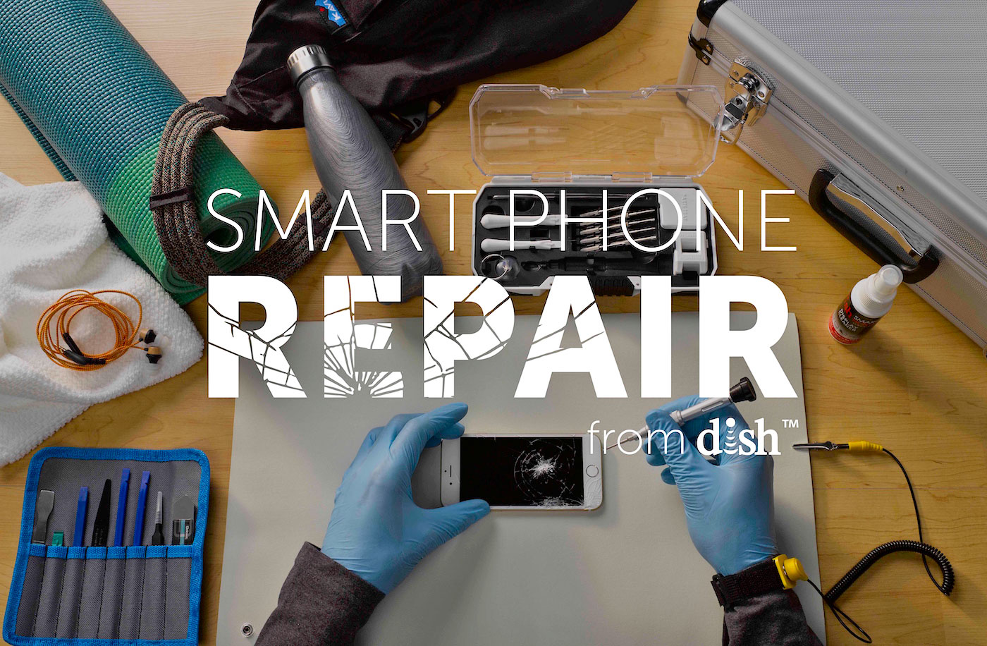 Dish gets into... the iPhone repair business?