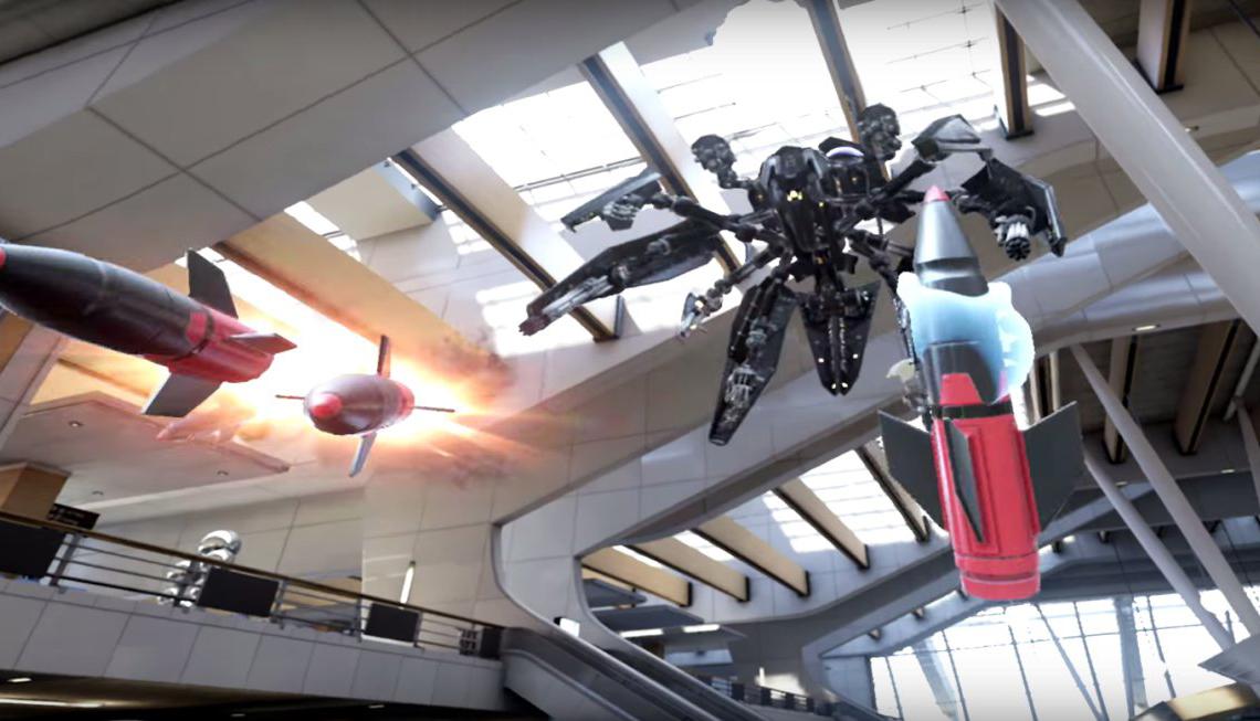 'Bullet Train' es lo próximo de Epic Games para Oculus