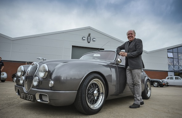 Ian Callum and his Jaguar Mk2