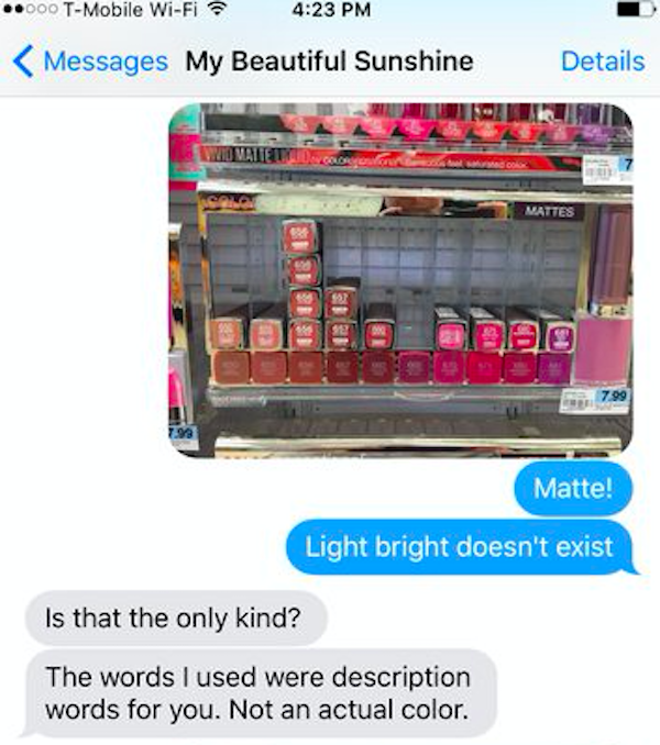 Girl Sends Boyfriend To Buy Makeup, Instantly Turns Into Complete Chaos
