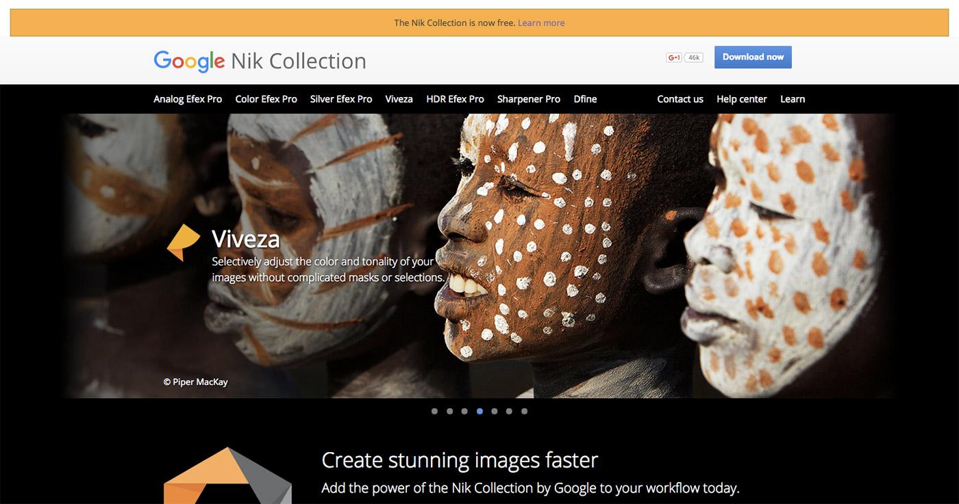 Google makes Nik photo-editing tools free to download