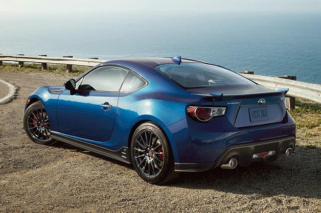 スバル、新型「BRZ」の米国向け限定モデル「シリーズ・ブルー」を発表!