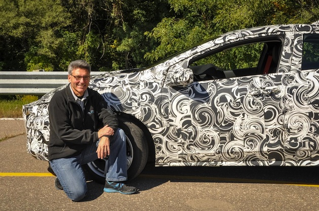 camouflaged new chevy volt