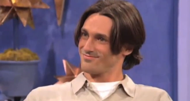 jon hamm 90s dating show