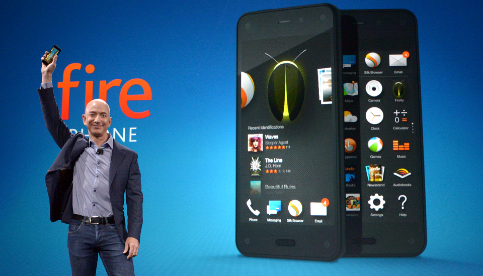Amazon announces the Fire, its first-ever smartphone