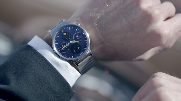 Huawei teases a luxury Android Wear watch through awkward videos