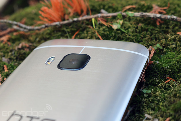 The HTC One M9 can finally capture uncompressed images