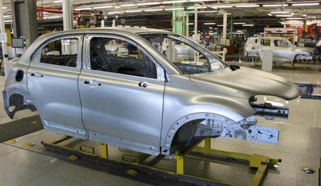 Fiat 500X production line