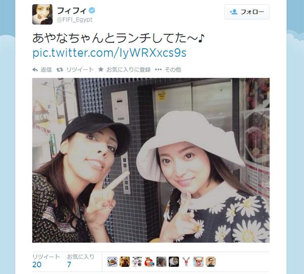 フィフィどうした? 加藤茶の妻・綾菜さんが扱うアクセサリーを突然宣伝、フォロワー困惑
