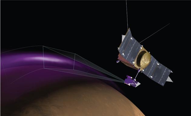 MAVEN spots an aurora over Mars