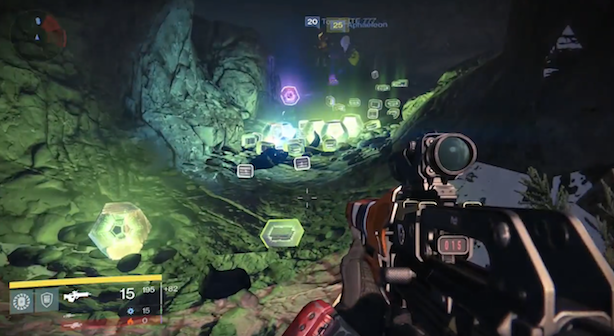 Destiny has a cave-shaped loot exploit