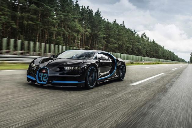 【ビデオ】ブガッティ「シロン」、0-400-0km/hの世界最速記録を樹立! ドライバーはJ.P.モントーヤ