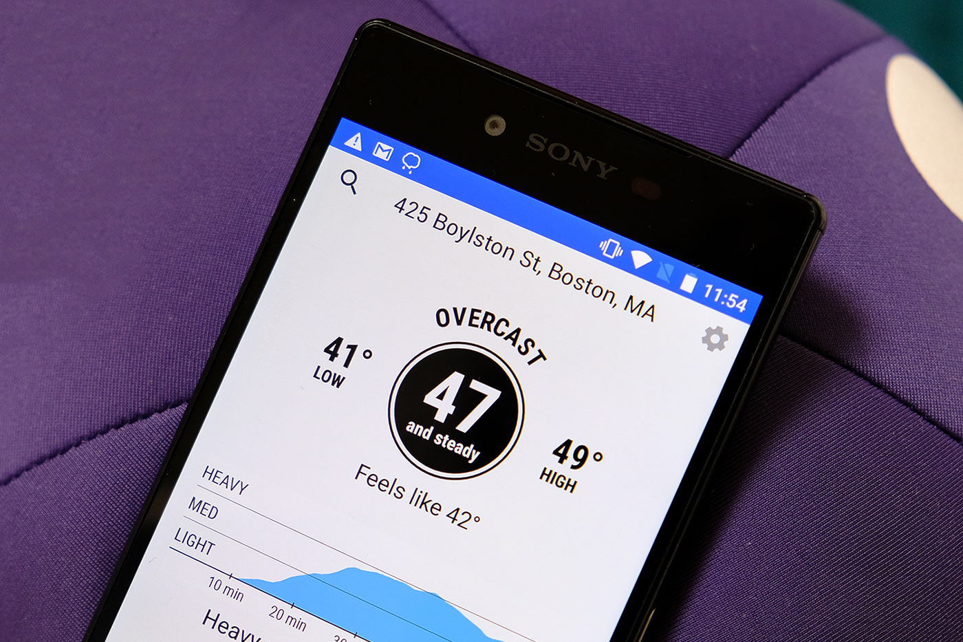 Dark Sky brings its 'hyperlocal' weather forecasts to Android