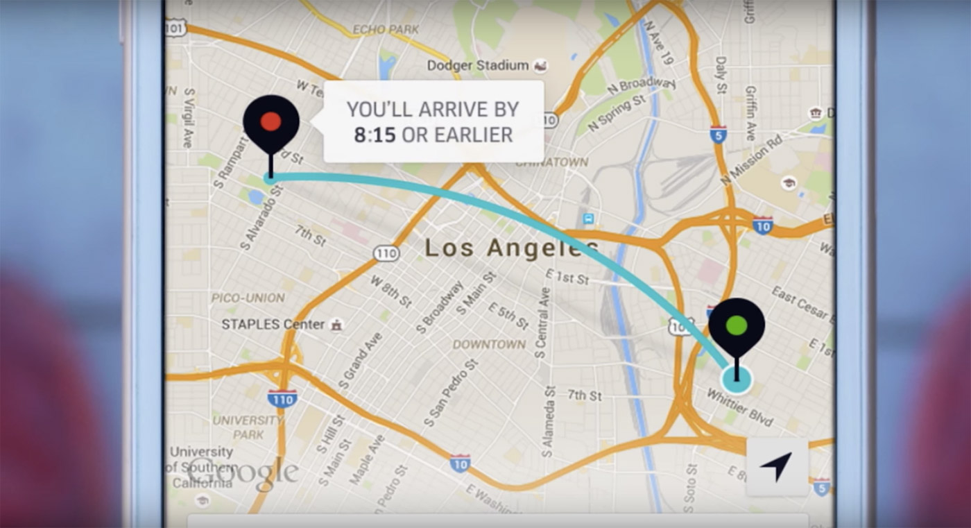 UberPOOL will give you $2 if it makes you late