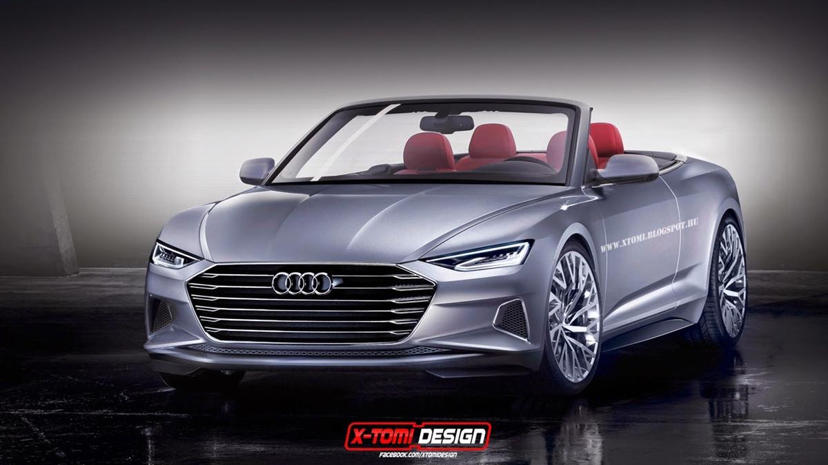 Audi von morgen: Audi A9 Cabriolet