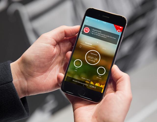 Vodafone verschenkt üppiges Datenvolumen bei schlechtem Netz