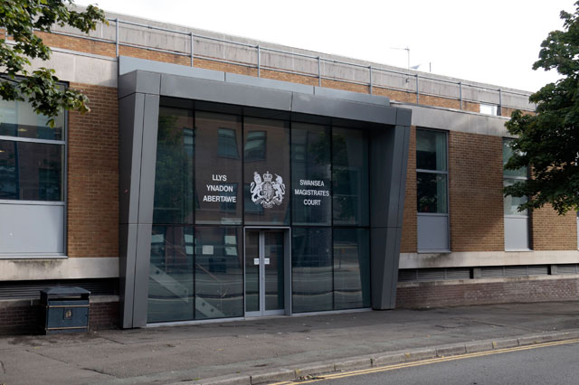 Swansea magistrates court