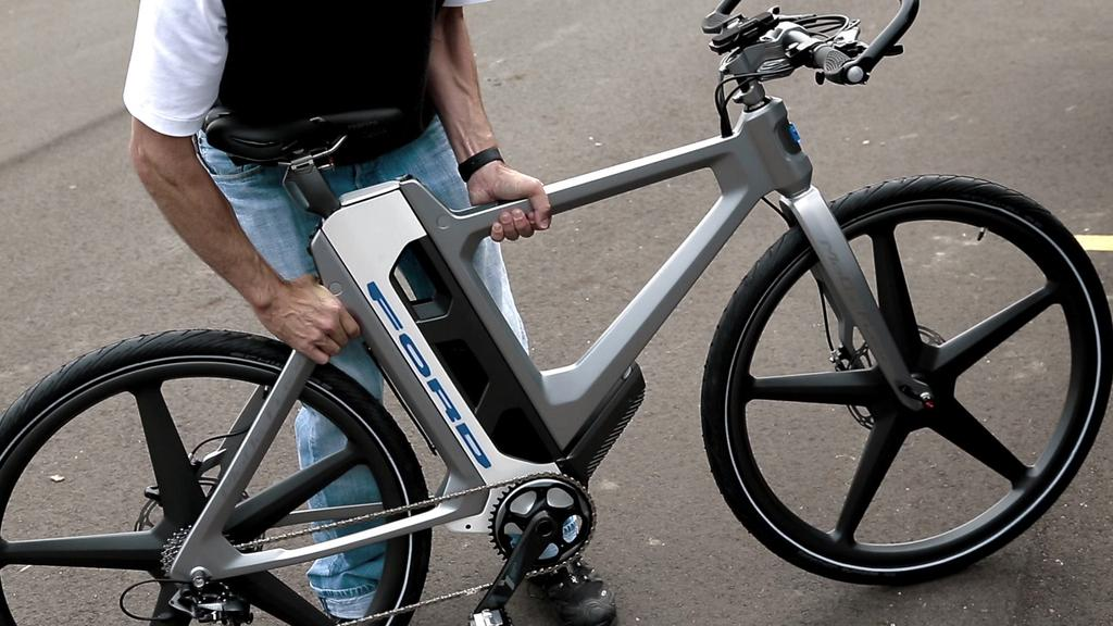 Ford S Latest Ebike Breaks Down To Fit In Your Trunk