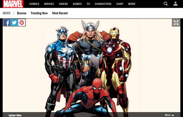 スパイダーマンが映画『アベンジャーズ』に参戦するとどうなるのか?徹底解説