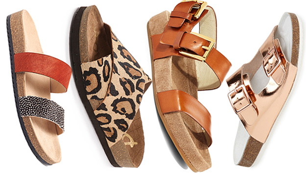 Cute and comfy summer sandals that won't hurt your feet