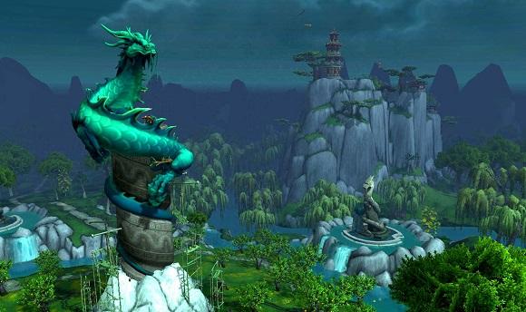The Jade Serpent statue