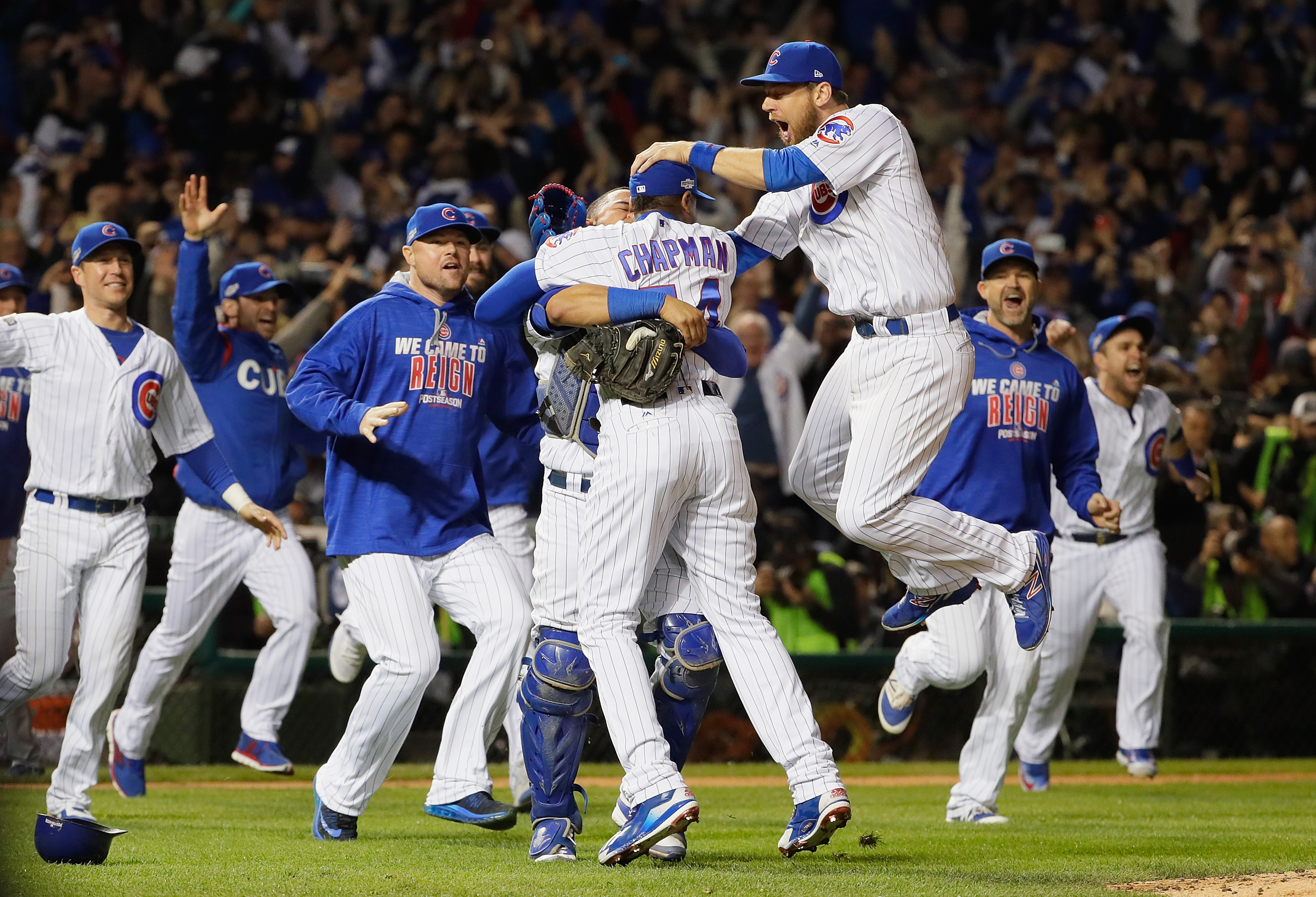 Believe it: Cubs are headed to the World Series after ousting Dodgers in NLCS Game 6