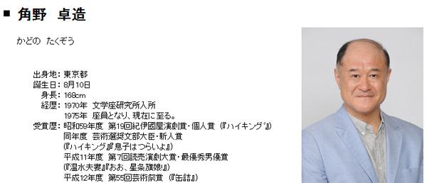 俳優・角野卓造が生「近藤春菜じゃねぇよ!」を披露 リアクションに絶賛の嵐