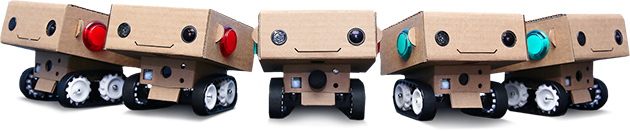 Cute robots make good filmmakers and maybe better companions