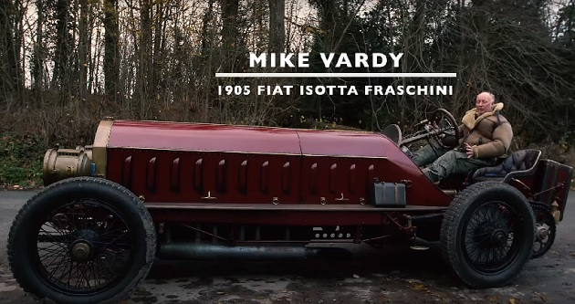 【ビデオ】最大トルクは414.7kgm! 飛行船用エンジンを積んだ1905年型フィアット