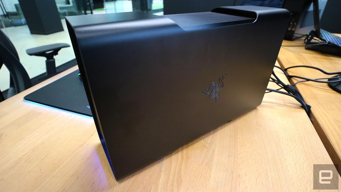 El adaptador externo para GPU de Razer llegará en abril por 500 dólares