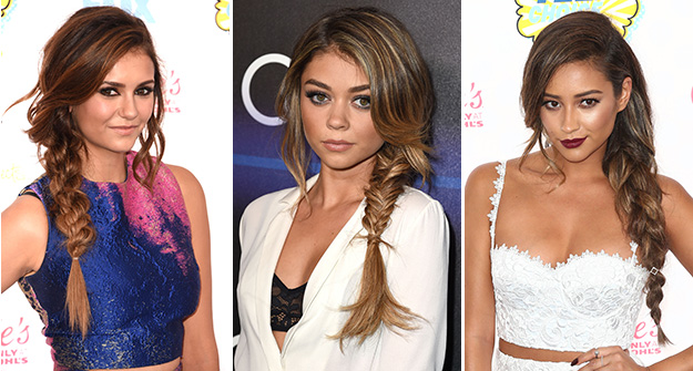 Messy braids are fall's hottest hair trend
