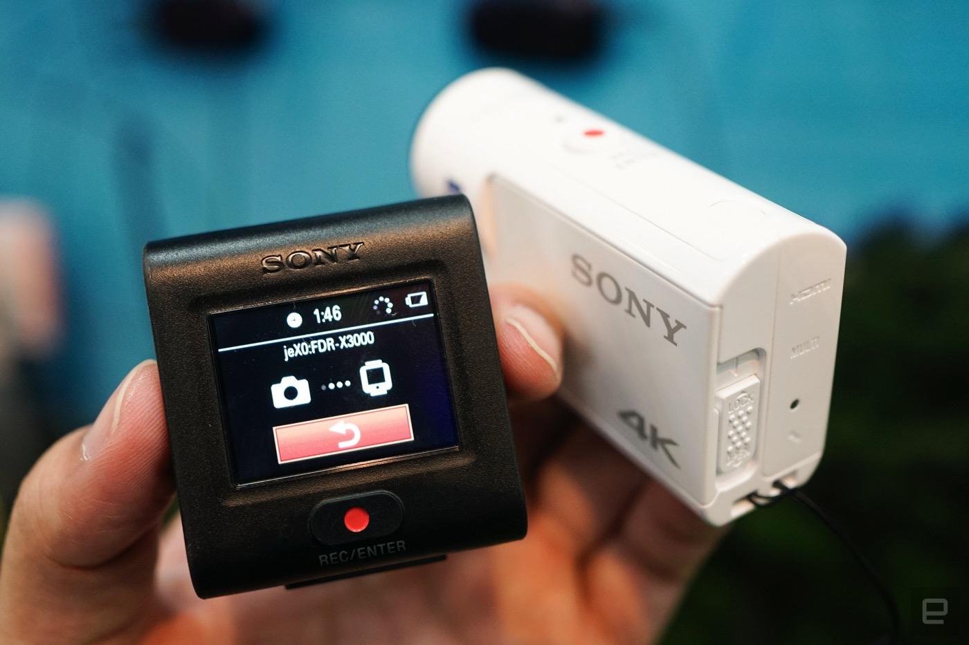 搭載光學防抖的新款索尼 Action Cam 動手玩