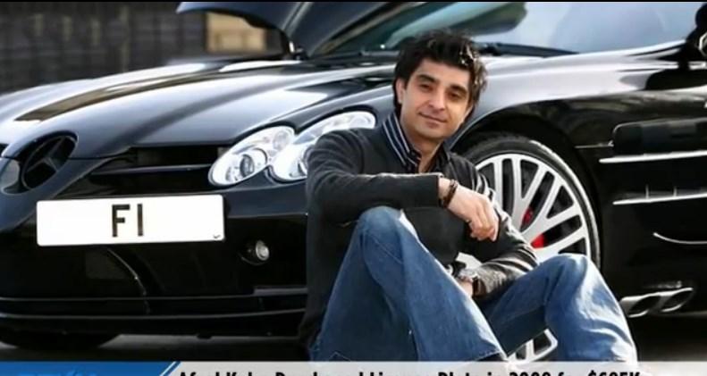 kurios, krass,  Afzal Khan, AfzalKhan, bugatti, f1, featured, kennzeichen, nummernschild, verkauf, License plate, teuerstes Nummernschild der welt, teuerstes kennzeichen der Welt, most expensive license plate,