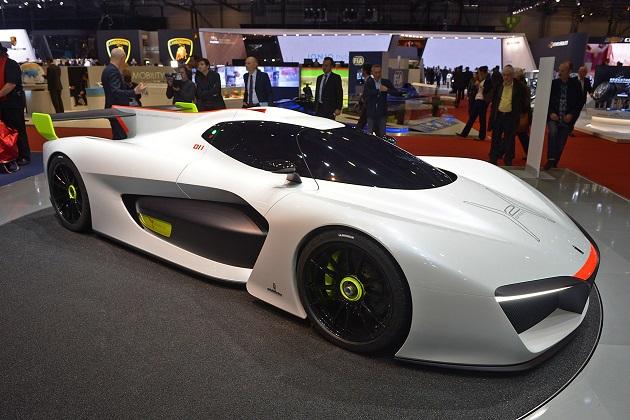 【ジュネーブ・モーターショー】ピニンファリーナが提案する環境に優しいレーシングカー「H2スピード」