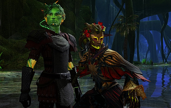 My buddy Gavin is a Courtier too/Me and Gavin are the leaders of the Nightmare crew