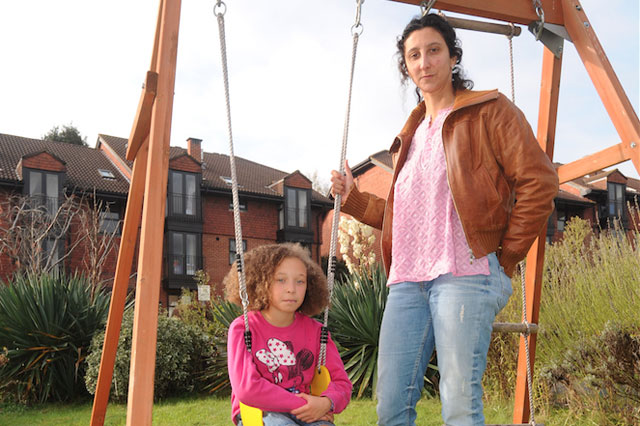 Council orders mum to remove garden swing - because it doesn't have planning permission