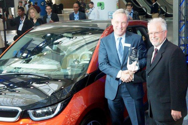 BMW「i3」が2015年グリーン・カー・オブ・ザ・イヤーを受賞!