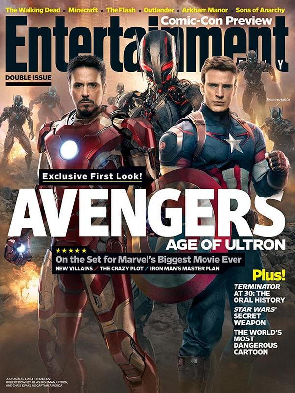 ew age of ultron cover
