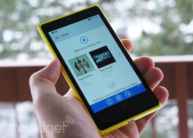 Rdio's Windows Phone music app gets a much-needed overhaul