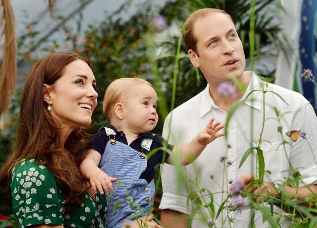 Kate Middleton takes Prince George to Princess Diana memorial playground