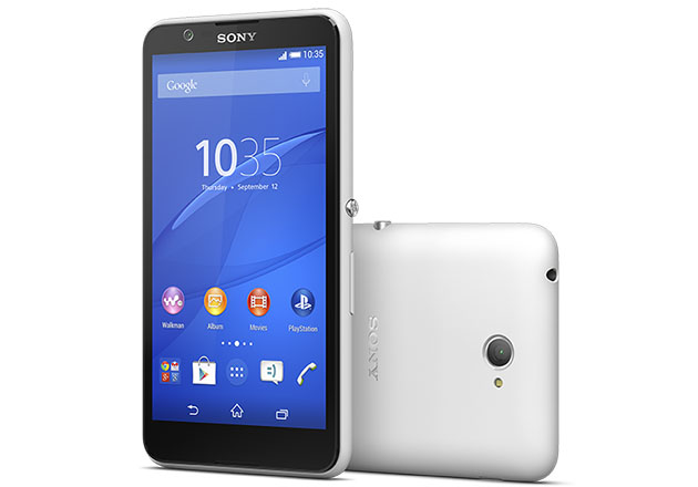 Sony s curvier E4 hints at new Xperia design