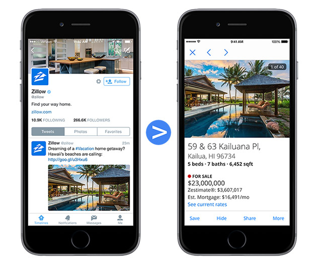 Google's URL shortener deeps links directly to iOS and Android apps