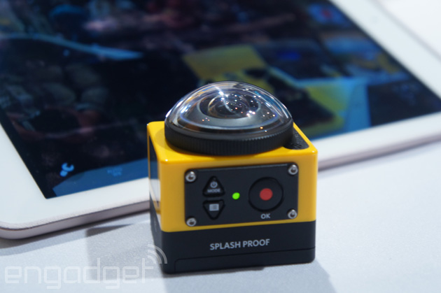 Kodak's new action cam offers 360-degree views of your stunts