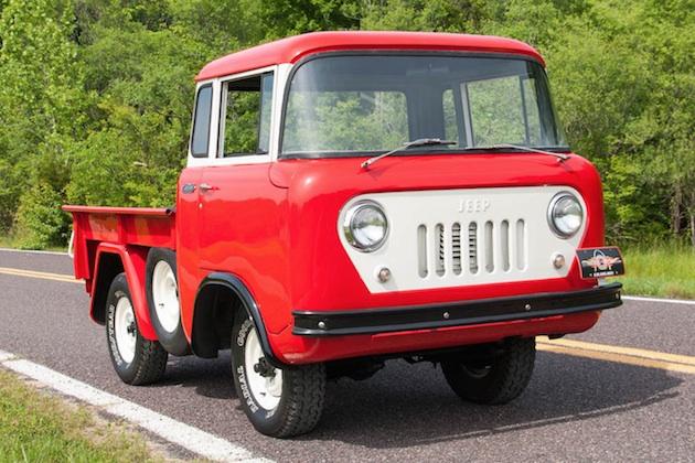 新車のような1958年製「ジープ FC-150」をネット・オークションで発見!