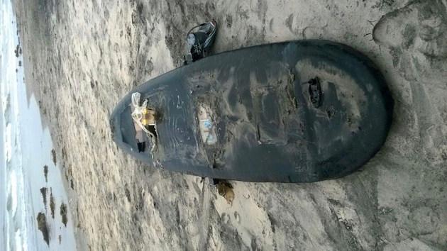 Batteriebetriebenes Surfbrett voller Meth gefunden