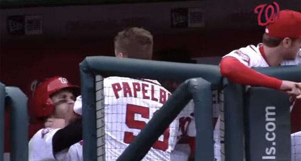 メジャーリーグで若手VS大ベテランがベンチでアツすぎる殴り合い!「史上最強」ナショナルズがチーム崩壊【動画】
