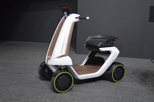 【東京モーターショー2015】ホンダ、「WANDER(自由に動き回る)」をコンセプトした2つのモビリティを出展
