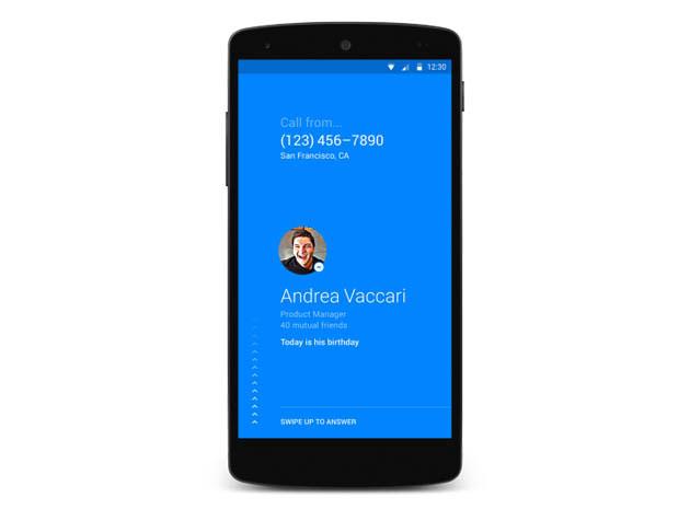 Facebook presenta Hello, el listín telefónico universal para Android